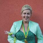 Sandra Kobel – 2. Vorsitzende &, aktiv in Bütt und Wildsaugarde